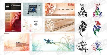 Practical trend pattern vector material-5