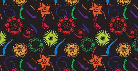 Free flourish pattern