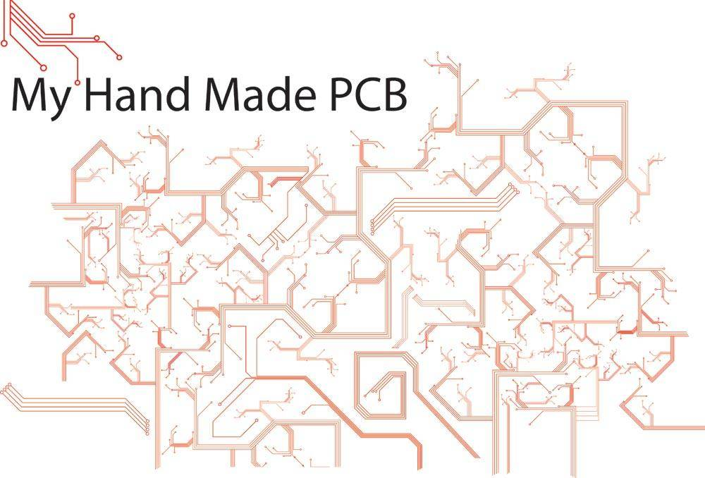 My handmade PCB