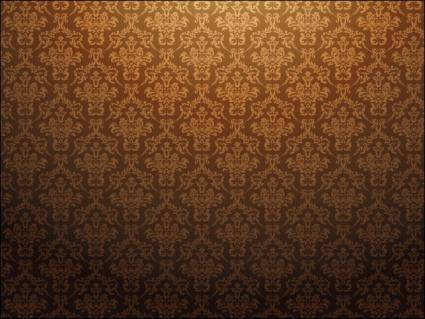 free vector Baroque Pattern