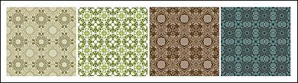 free vector Classic tile pattern vector