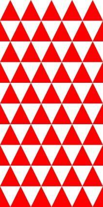 free vector Triangles Equal 2 Pattern clip art
