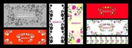 Exquisite decorative patterns