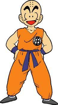 free vector Dragon Ball Krillin