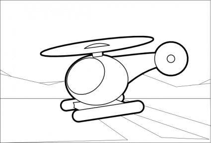 Helicopter clip art