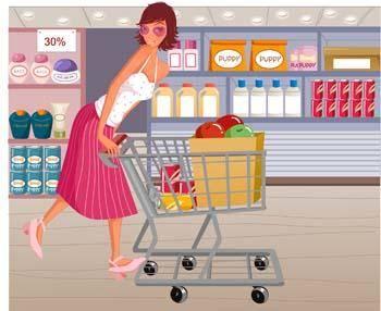 Shopping vector 14