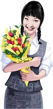 free vector Bouquet 1