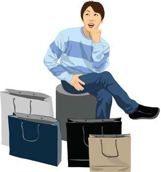free vector Shopping vector 8