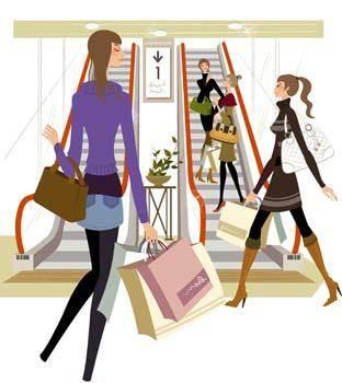 free vector Shopping urban 21