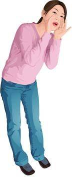 free vector Jeans Girl Vector 14