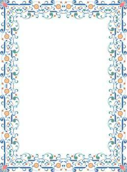 Frame Vector Pattern 9