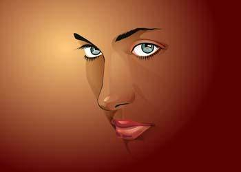 free vector Dominant face 3