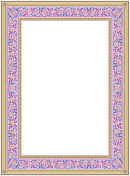 free vector Frame Vector Pattern 7