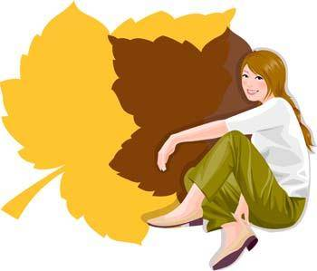 free vector Sit girl position vector 26