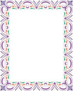 free vector Frame Vector Pattern 5