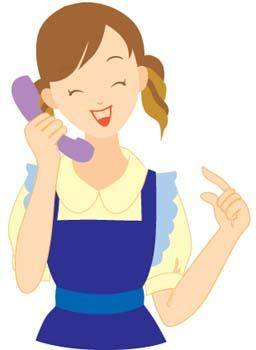 free vector Girl with phone 51