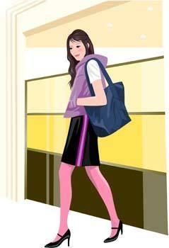 free vector Shopping urban 19
