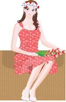 free vector Bouquet 5