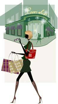 free vector Shopping urban 5