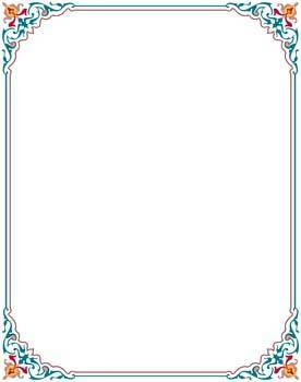 free vector Frame Vector Pattern 11