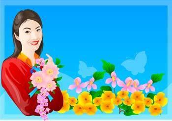 free vector Bouquet 4