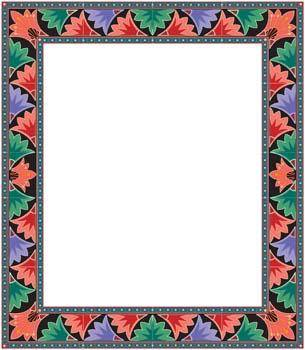 free vector Frame Vector Pattern 18