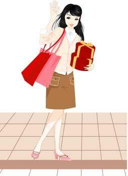 free vector Shopping urban 16