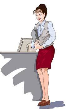 free vector Business women 11