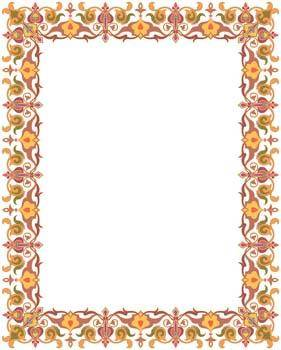 free vector Frame Vector Pattern 15