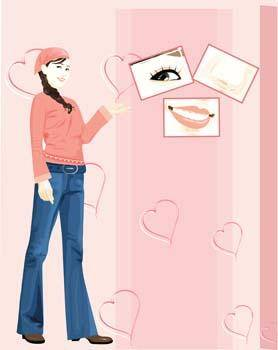 Jeans Girl Vector 26
