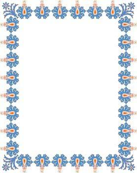 Frame Vector Pattern 8