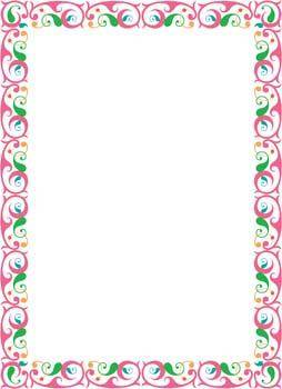 Frame Vector Pattern 6