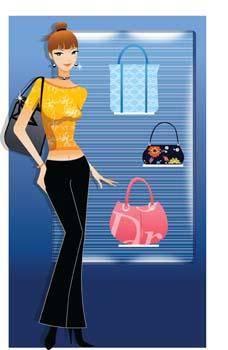 Shopping girl 8