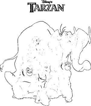 free vector Tarzan 3