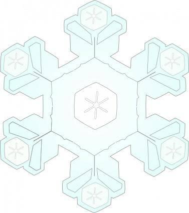 Snowflake 4 clip art
