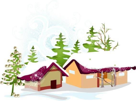 Winter free vector