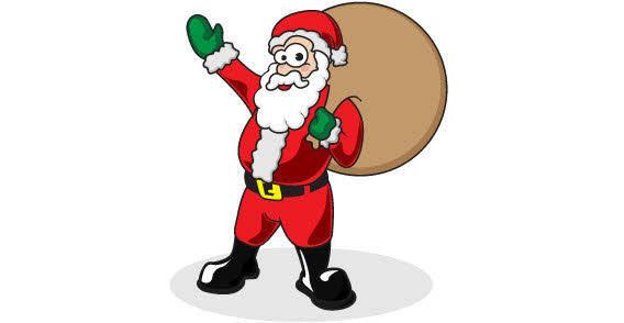 free vector Free Santa Claus vector