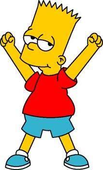 free vector Bart Simpson 2