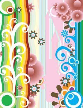 free vector Design Ornate Patern Vector 1