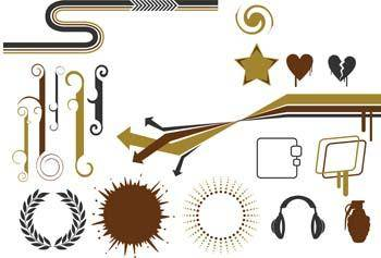 free vector Design Elements Vector 1
