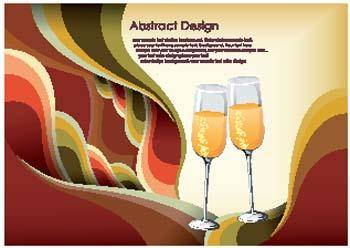Abstract celebration design