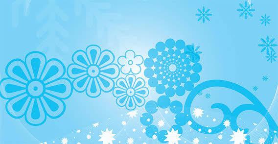 free vector Blue design elements free vector
