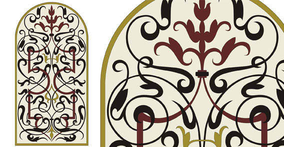 Design elements  - Hand traced