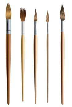 free vector Paint brushes vector