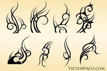 Adobe illustrator tribal vectors ai