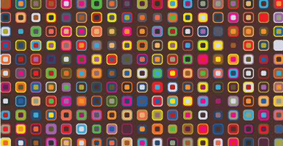 Design elements colourful squares free vector