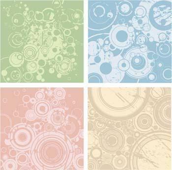 free vector Grunge Circles Vector