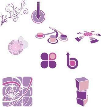 free vector DesignElements Six Vector