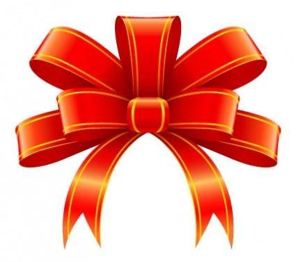 free vector Red ribbon for christmas gift decoration