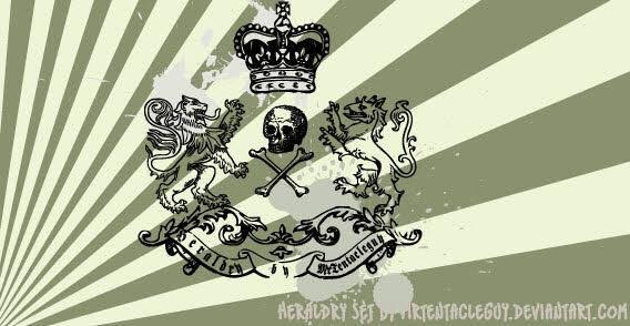 Heraldry free vector